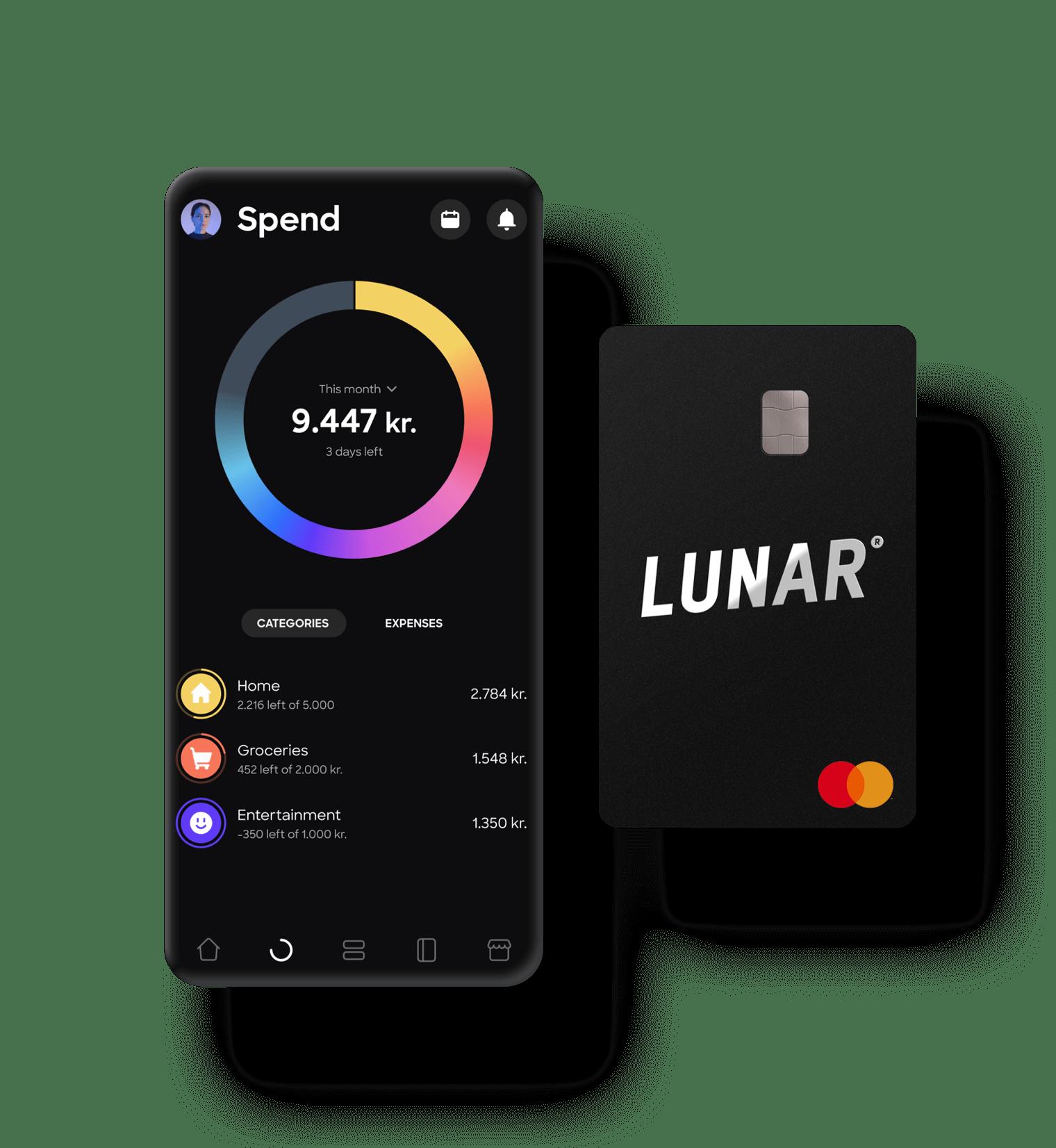 Moderna mobilbank- och betalkort