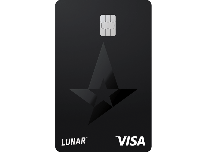 Lunar x Astralis Visa card