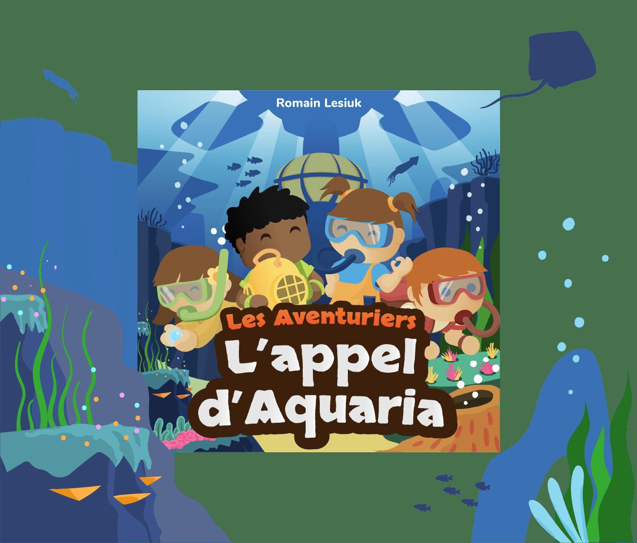 Histoires audio Lunii Ma Fabrique à Histoires L'Appel d'Aquaria
