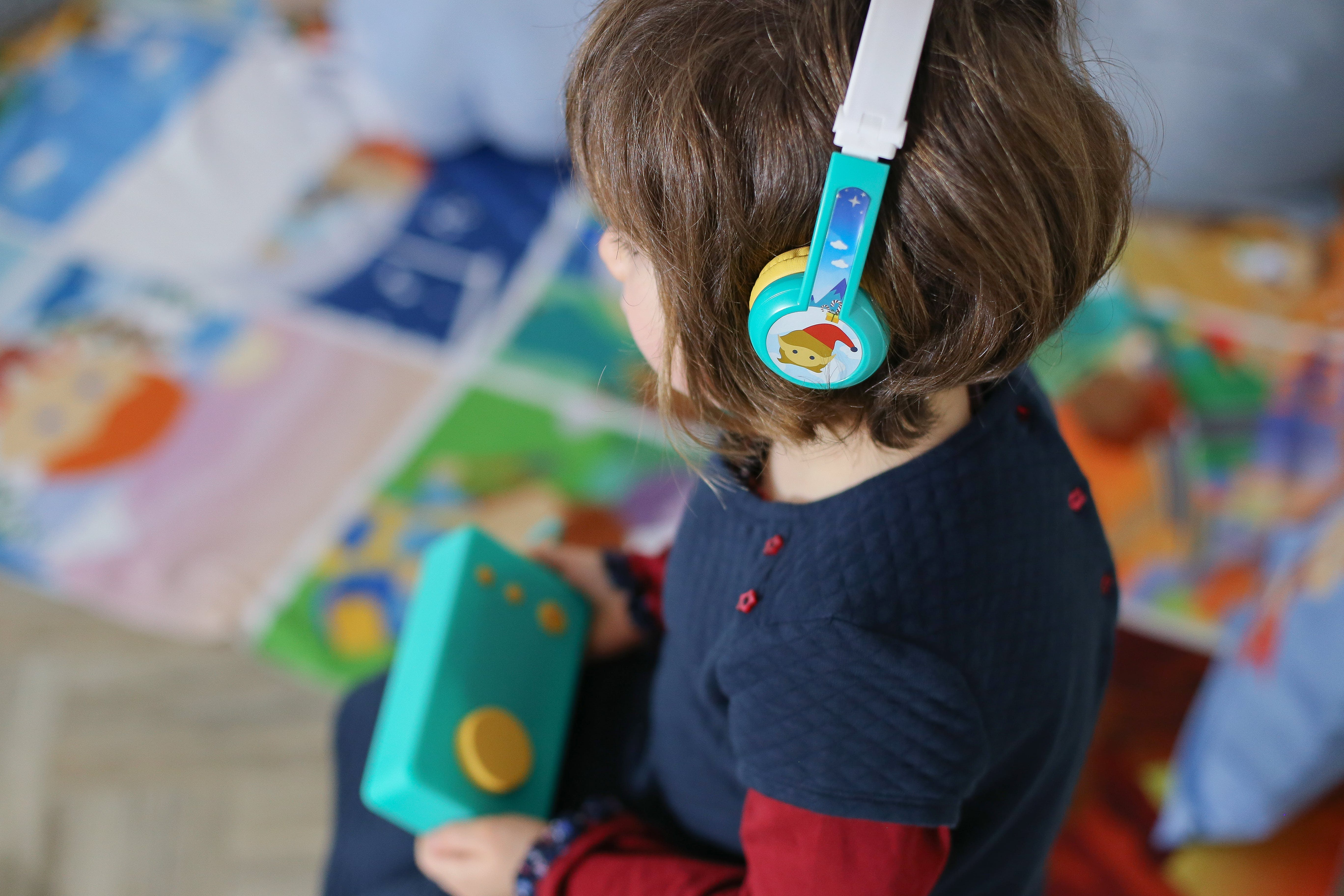 Comfortable and very sturdy, the Octave headphones have been designed to adapt to children from 3 to 10 years old