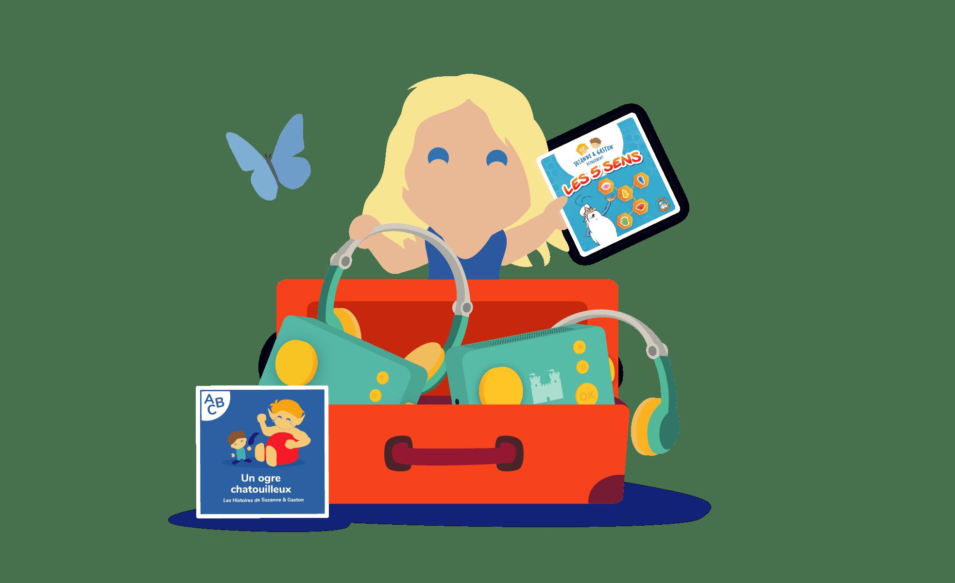 Offre Lunii et les écoles contenu pédagogique