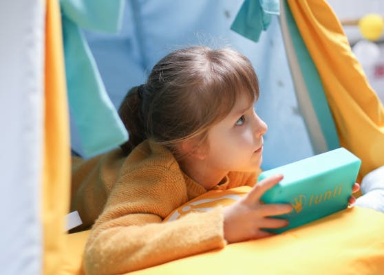 My Fabulous Storyteller offers an immersive audio experience for children to wander in and expand their horizons!