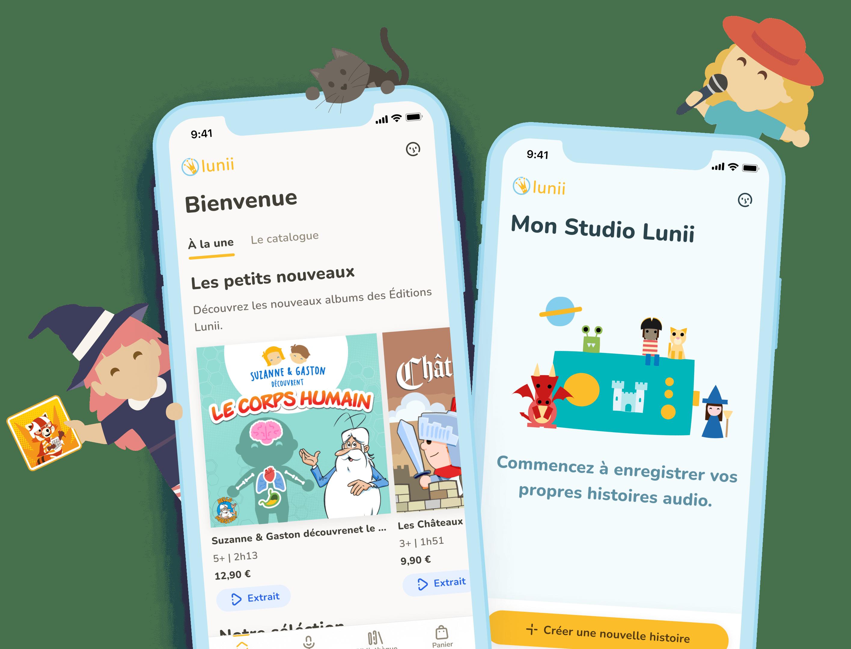 Application mobile Lunii
