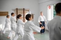 Réalisation de vidéo/photo promotionnelle club sportif pour Lausanne Aikido