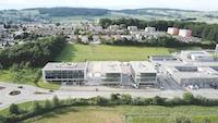 Production de vidéo immobilière au drone à Fribourg pour PBBG