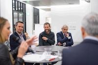 Couverture vidéo d'événement à la HEAD de Genève, pour Business In