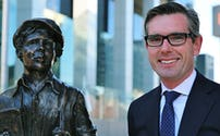 Lysicrates Foundation James Martin Statue in Martin Place Sydney