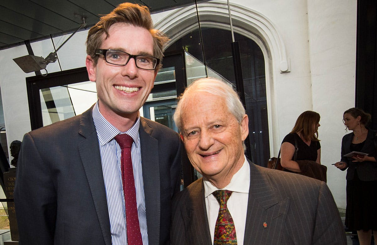 Lysicrates Prize 2015 Dominic Perrotet and Phillip Ruddock