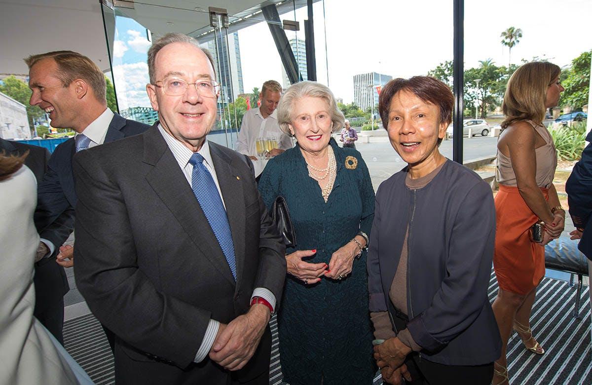 Lysicrates Prize 2015 Rob Stokes, Donald McDonald, Janet McDonald and Helena Carr