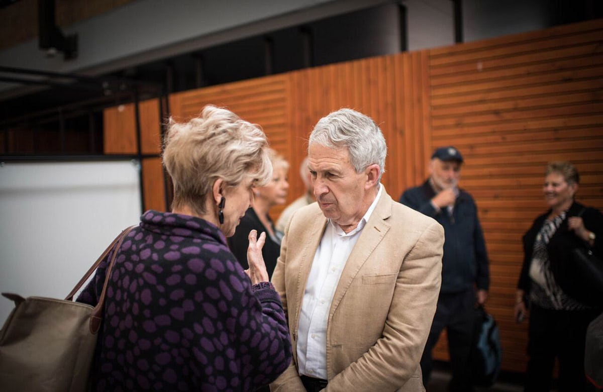 Lysicrates Prize 2017 Anni McDougal, Robert Love