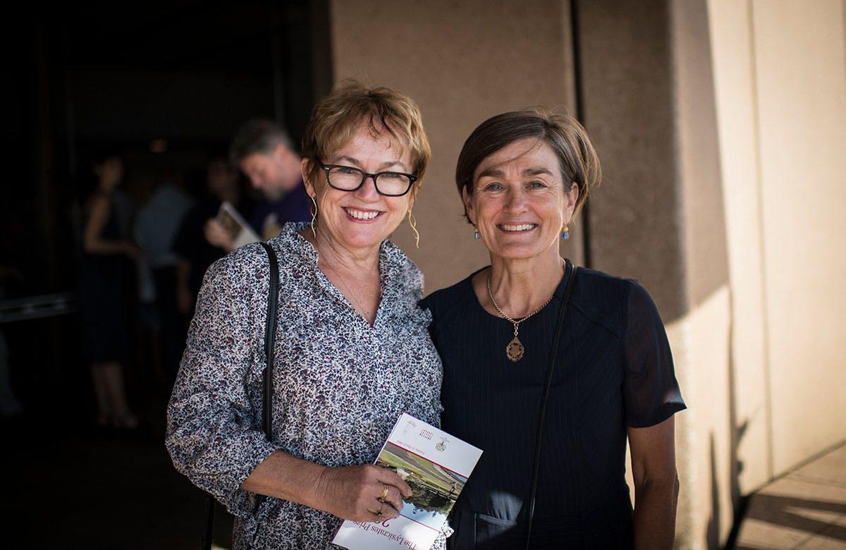 Lysicrates Prize 2018 Kathleen Gilbert, Louise Heron