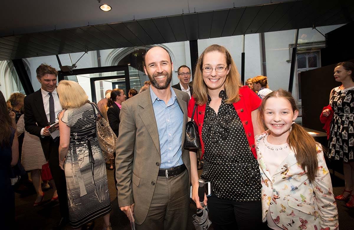 Lysicrates Prize 2016 Brent Thomas, Tess Thomas and Bella Thomas