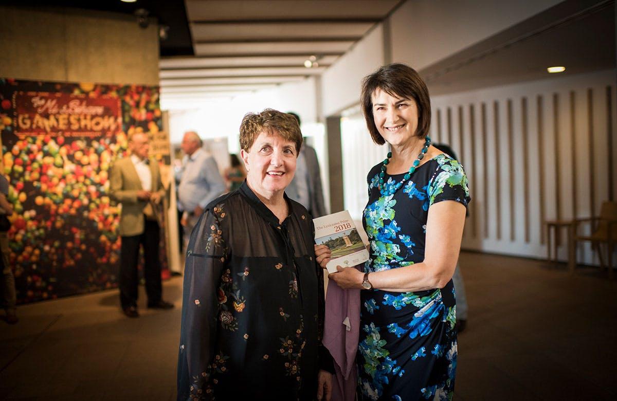 Lysicrates Prize 2018 Patricia Azarias, Carmel Tebbutt