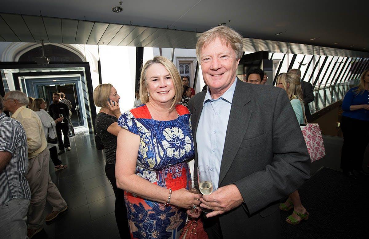 Lysicrates Prize 2015 Alan Manly, Jenny Manly