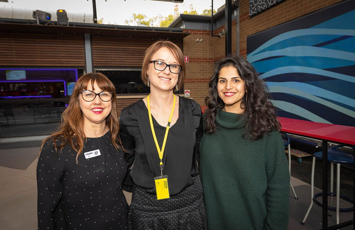 Martin Lysicrates Playwright Prize 2019 Riverside Theatre's Cassandra Bailey, ATYP Amanda Wright