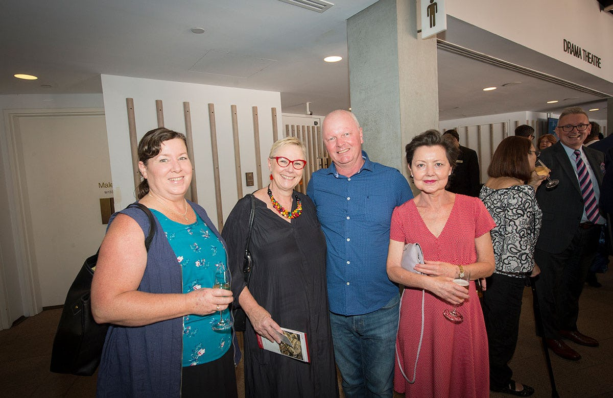 Lysicrates Prize 2018 Kim Walley, Martin Fame, Lucy Fame