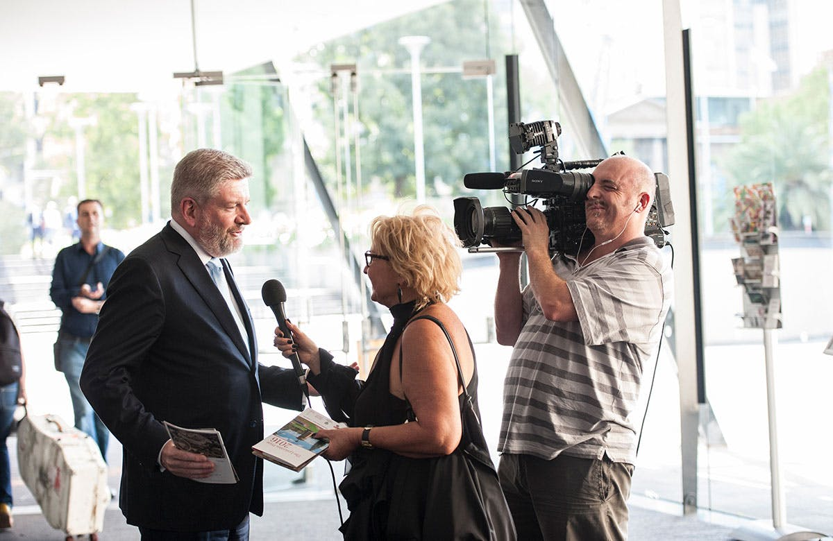 Lysicrates Prize 2016 Minister Mitch Fifield