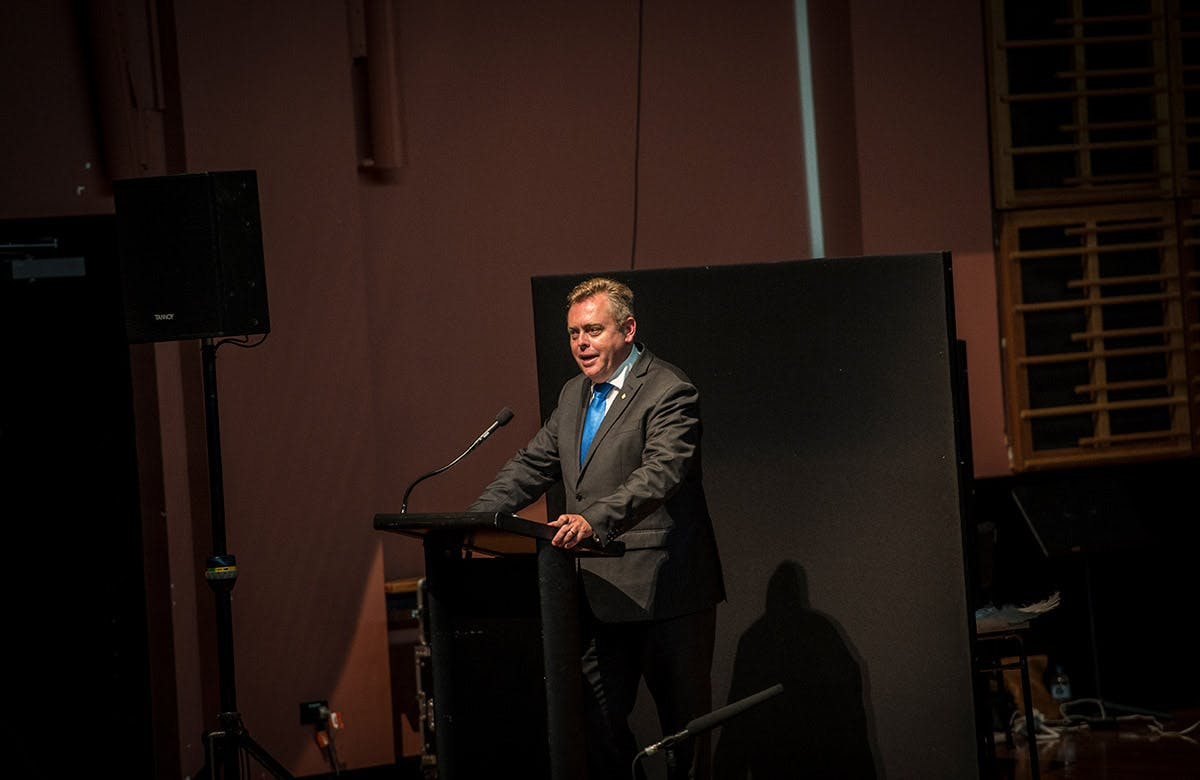 Lysicrates Prize 2016 The Hon Anthony Roberts