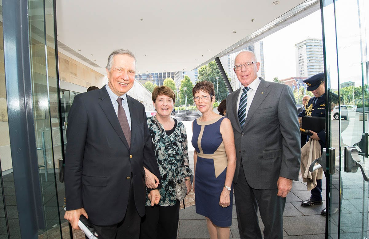 Lysicrates Prize 2016 The Governor of NSW David Hurley and Mrs Hurley
