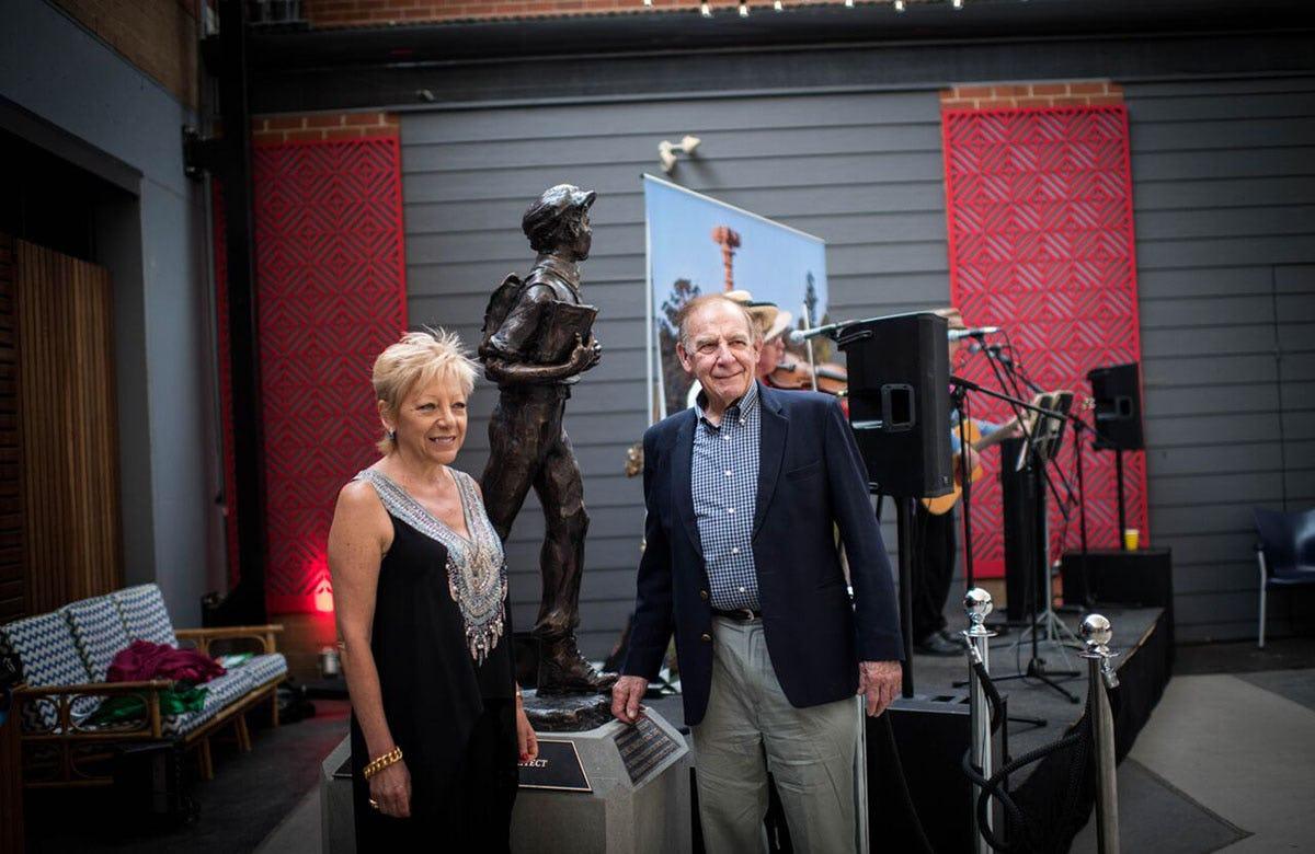 Lysicrates Prize 2017 Linda Pace, Alan Somerville
