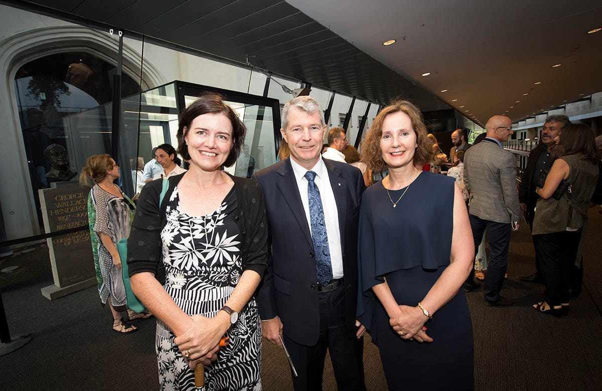 Lysicrates Prize 2016 Louise Clegg Senator David Fawcett