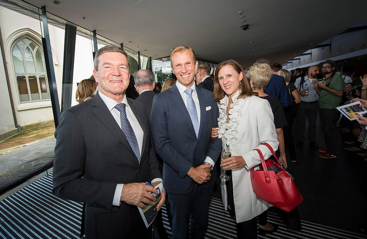 Lysicrates Prize 2015 Rob Stokes and Sophie Stokes