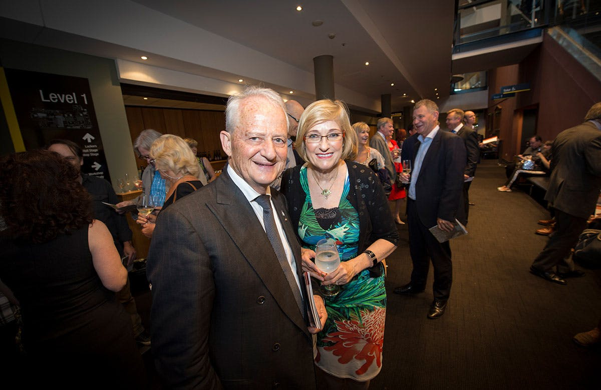 Lysicrates Prize 2016 Former Federal Attorney General Philip Ruddock and Heather Ruddock