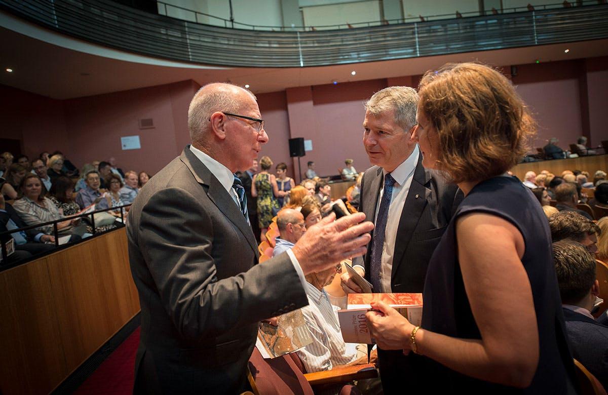 Lysicrates Prize 2016 David Hurley and Senator David Fawcett