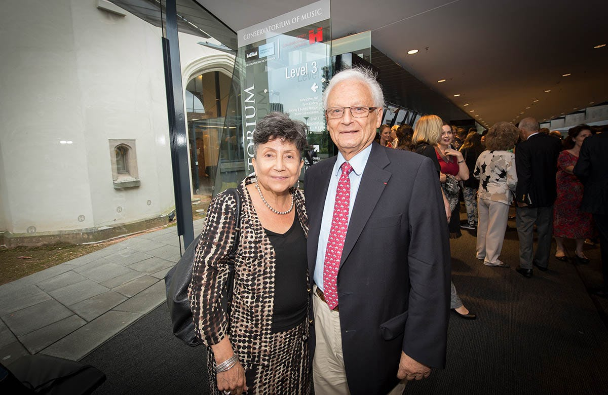 Lysicrates Prize 2016 Joel Hakim and Marta Hakim