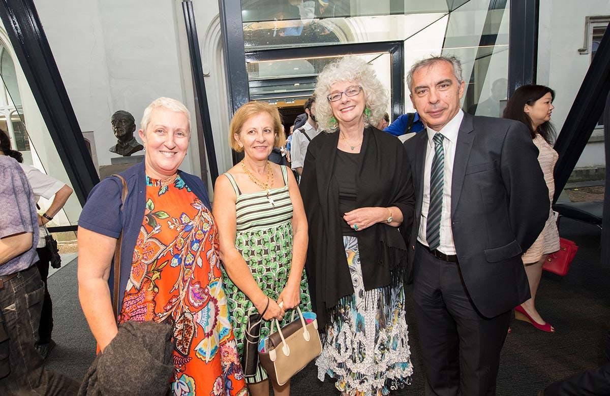 Lysicrates Prize 2016 Liz Kaidos, Annette Alegounarias and Tom Alegounarias