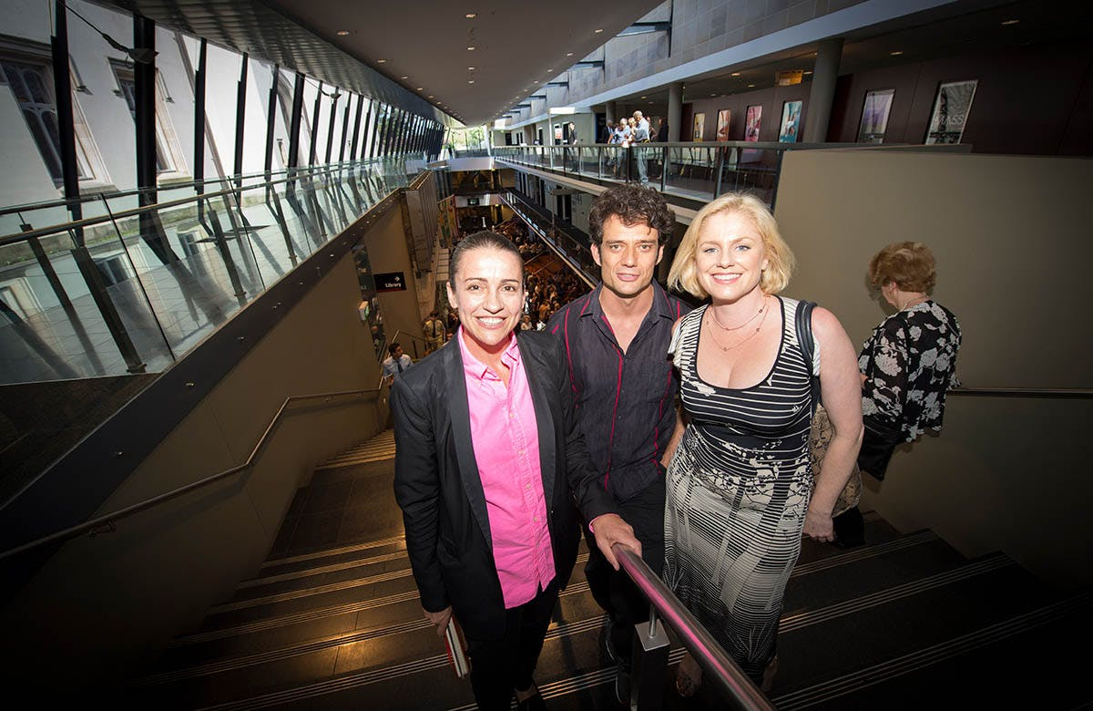 Lysicrates Prize 2016 Artistic Director of Griffin Theatre Company Lee Lewis