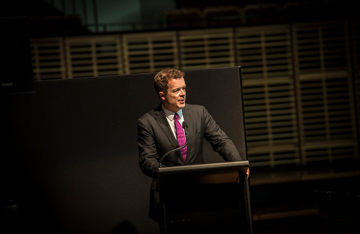 Lysicrates Prize 2016 NSW Minister for Environment The Hon Mark Speakman