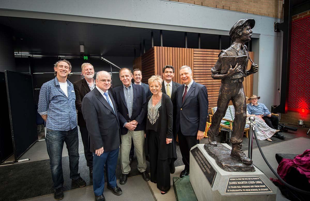 Lysicrates Prize 2017 Paul Thurlow, Bruce Pettman, Andrew Wilson, Alan Somerville, Linda Pace