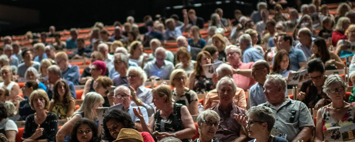 Lysicrates Playwright Prize 2019 Packed Audience