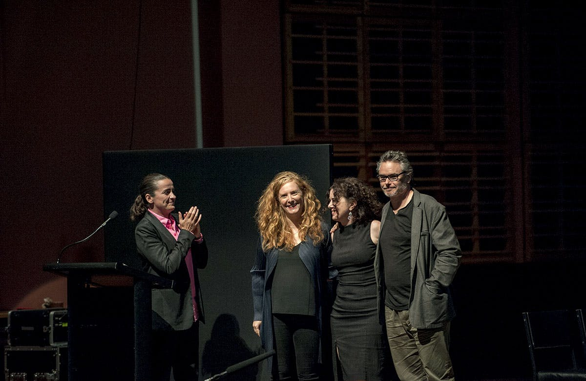 Lysicrates Prize 2016 Lee Lewis, Elise Hearst, Mary Rachael Brown and Campion Decent