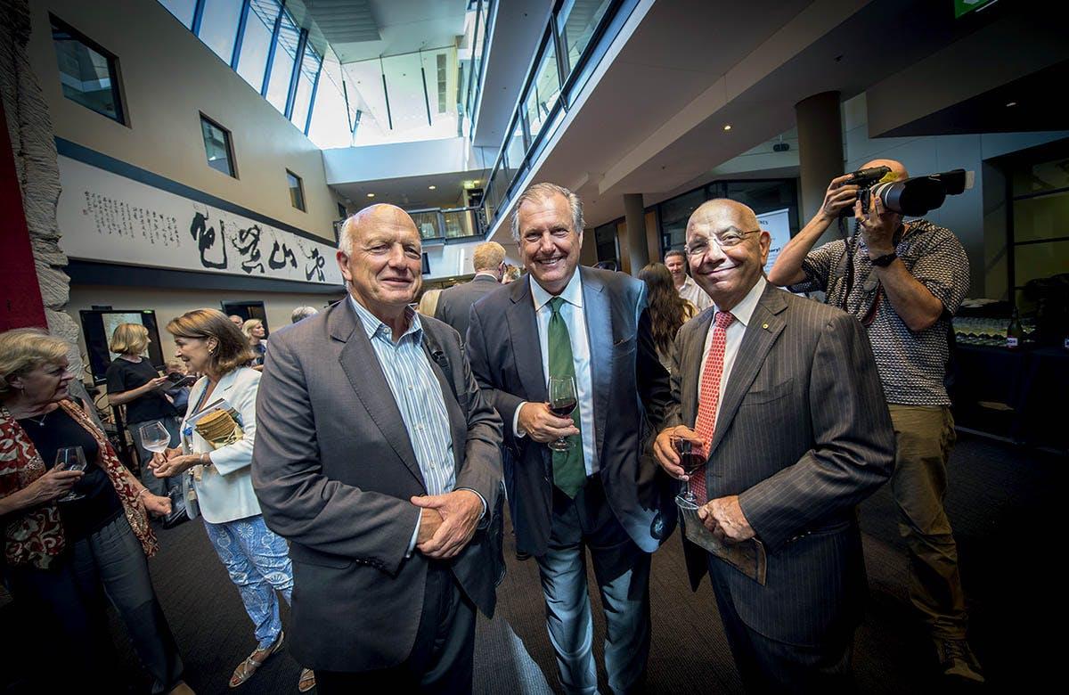 Lysicrates Prize 2016 Paul Espie, John Messaras, Paul Salteri
