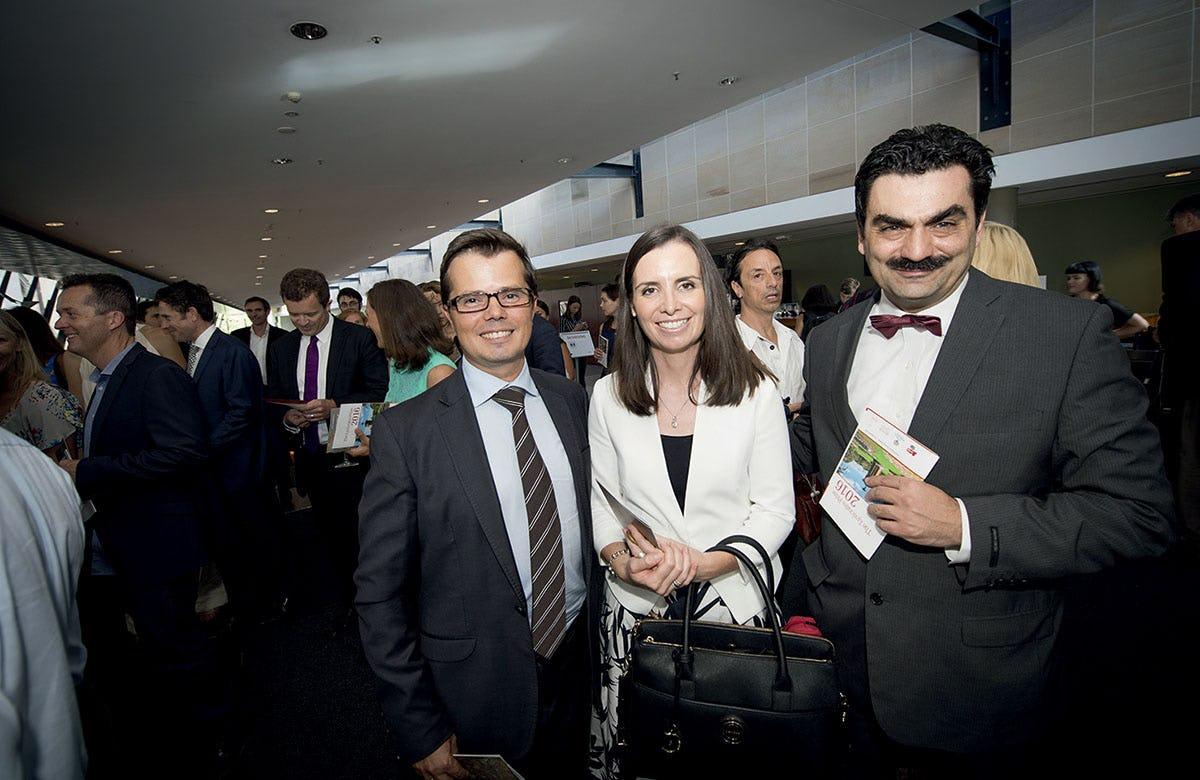 Lysicrates Prize 2016 Courtney Houssos, George Houssos, Dr Stavio Kyrimis