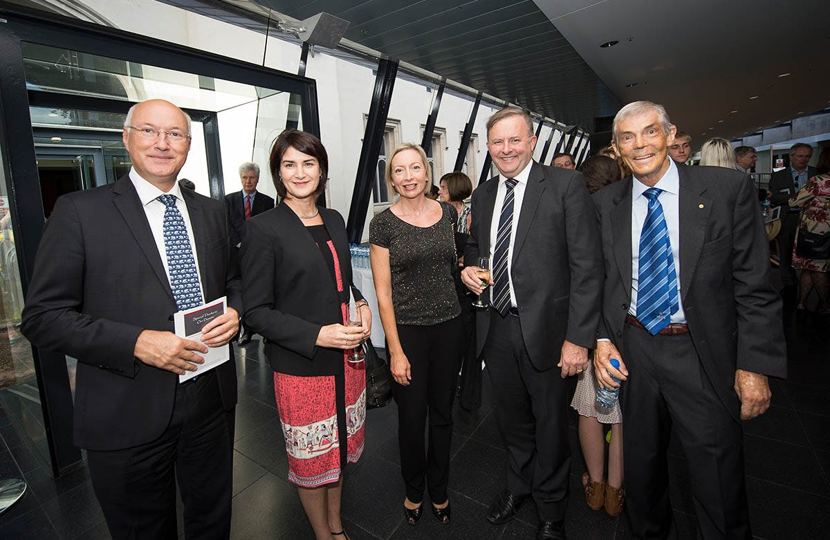 Lysicrates Prize 2015 Carmel Tebbutt, Anthony Albanese and Clyde Thomson