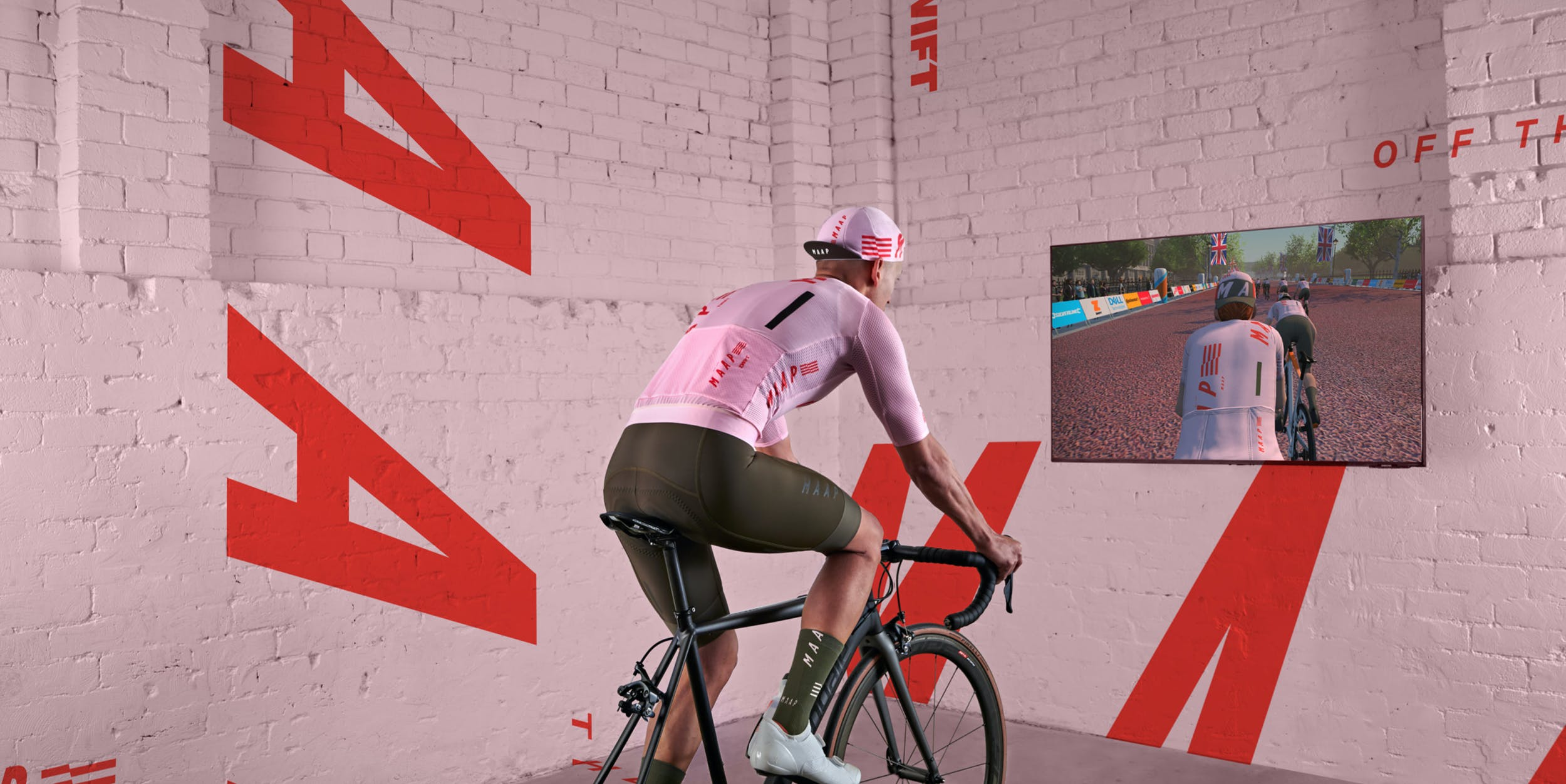 OFF THE^MAAP TOUR^ON ZWIFT
