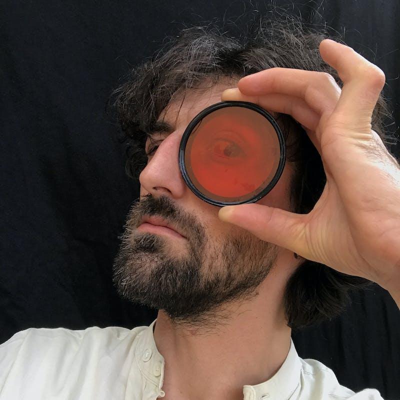 Self-portrait    Berlin, April 2020