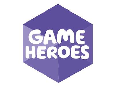Thumbnail of Game Heroes logo purple