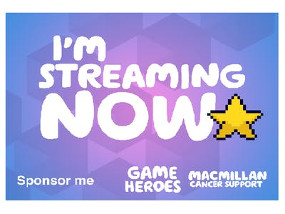 Thumbnail badge 'I'm streaming now'