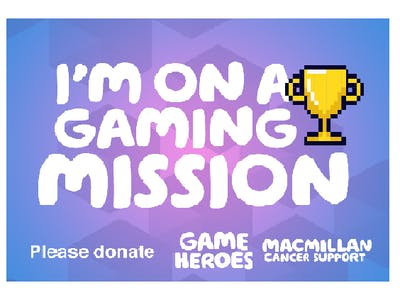Thumbnail badge 'I'm on a gaming mission'