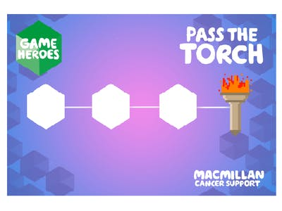 Thumbnail of small team Pass the torch