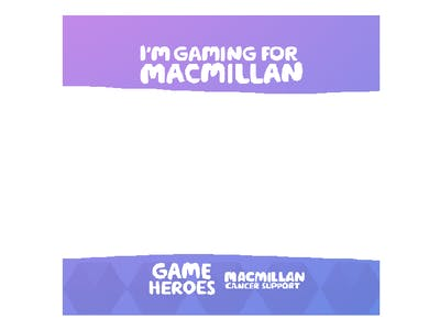 Thumbnail of frame 'I'm gaming for Macmillan'