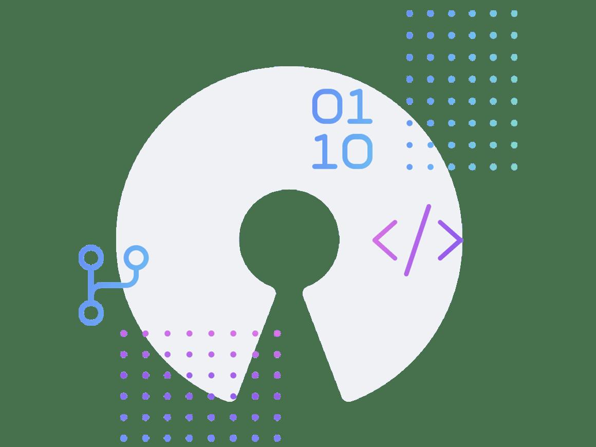Open source illustration