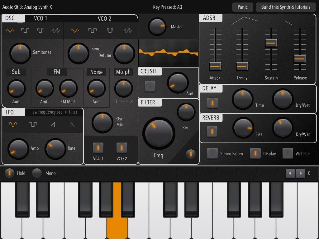 AudioKit audio synthesis tool image
