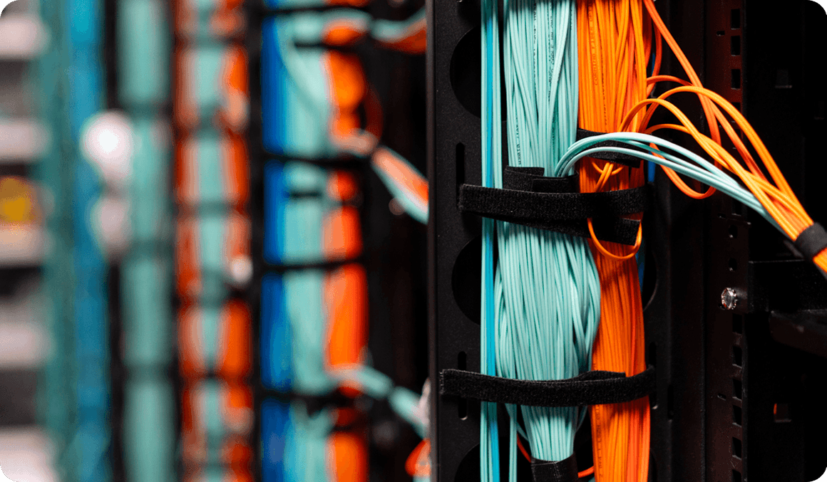 Cables in data center