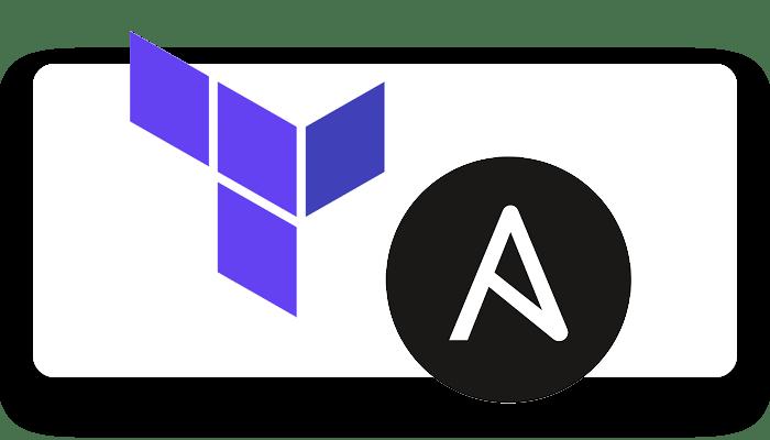 Terraform & Ansible logos