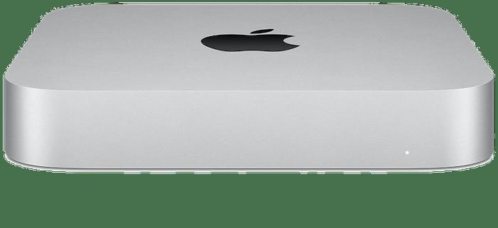Silver Mac mini